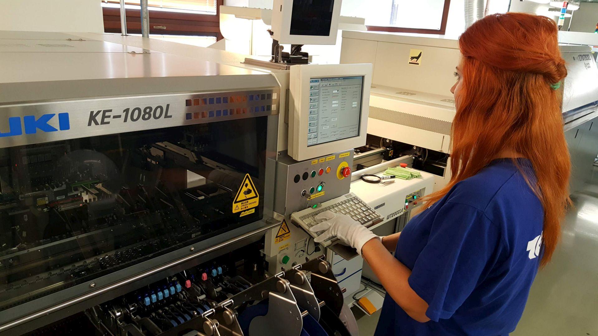 SMT machine JUKI KE-1080 L